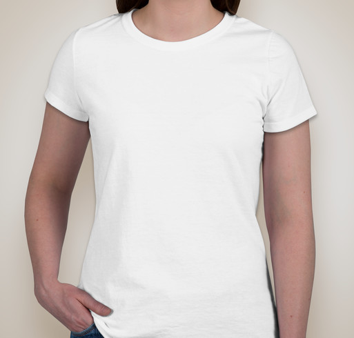 Jerzees Ladies 50/50 T-shirt - White