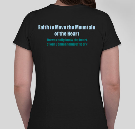 Moving the Mountains that Few in Congress are Willing to Move Fundraiser - unisex shirt design - back