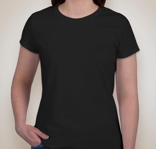 Jerzees Ladies 50/50 T-shirt - Black