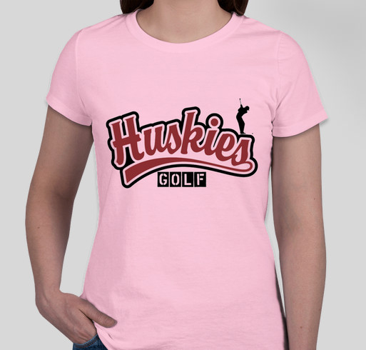 2015 Hamilton HS Huskies Boys Golf Limited Edition T-Shirt Drive Fundraiser - unisex shirt design - front