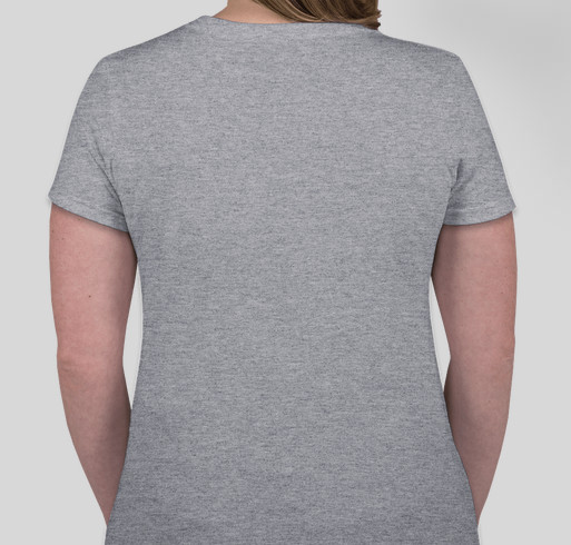 Hope is the thing... Fundraiser - unisex shirt design - back
