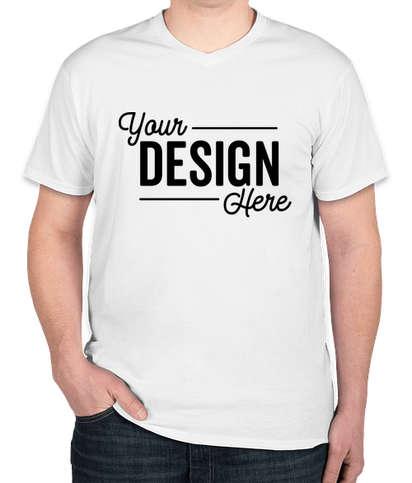 Hanes Nano V-Neck T-shirt - White