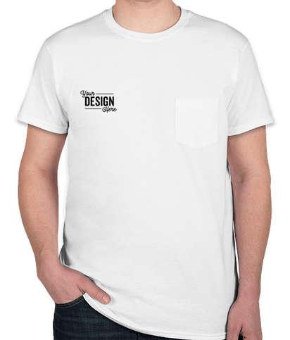 Hanes Nano Pocket T-shirt - White