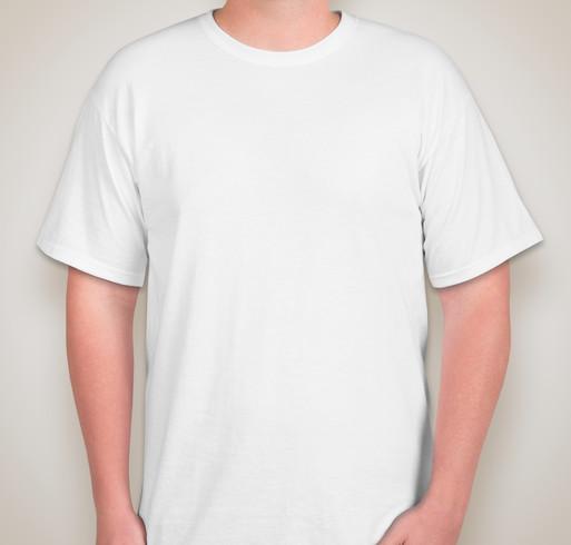 Jerzees 50/50 Tall T-shirt - White