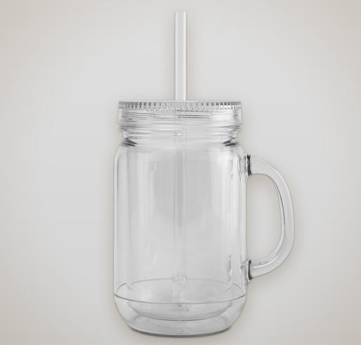 20 oz. Mason Jar-Style Acrylic Mug - Selected Color