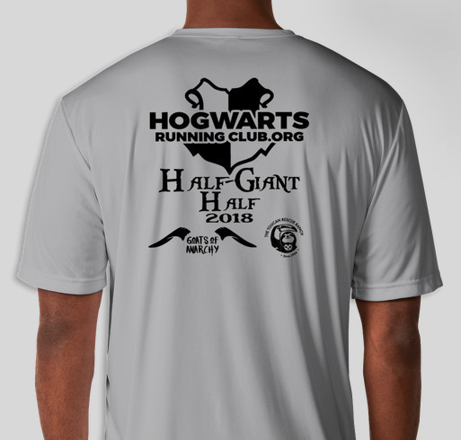 HRC - the Half-Giant Half Fundraiser - unisex shirt design - back