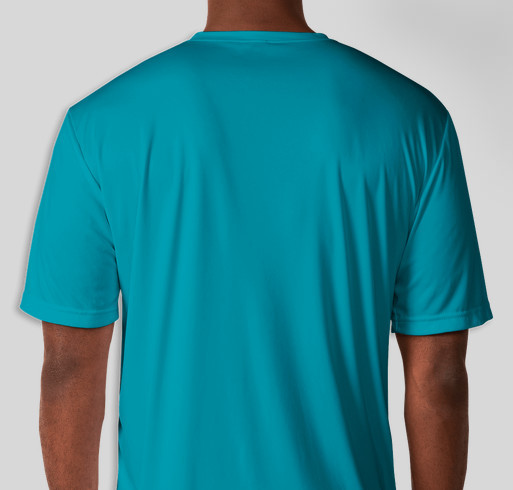#NoOneBattlesAlone - supporting brain cancer research Fundraiser - unisex shirt design - back