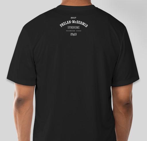 Phelan Lucky 2017 Fundraiser - unisex shirt design - back