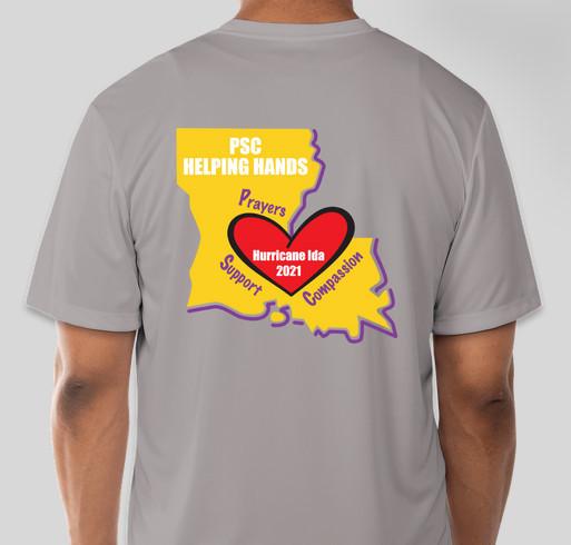 Hurricane Ida Recovery Fundraiser - unisex shirt design - back