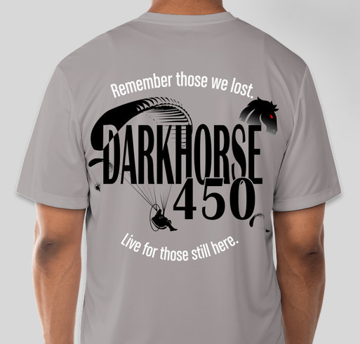 Darkhorse 450 Fundraiser - unisex shirt design - back