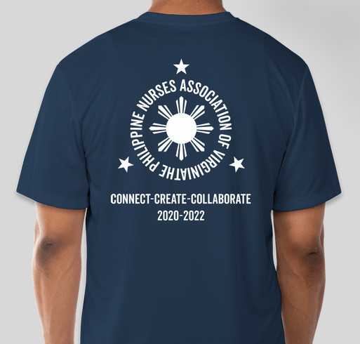 PNA Virginia Celebrates Nurses 2021 Fundraiser - unisex shirt design - back