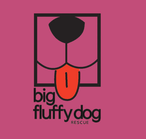 Big Fluffy Dog Rescue T-Shirts shirt design - zoomed