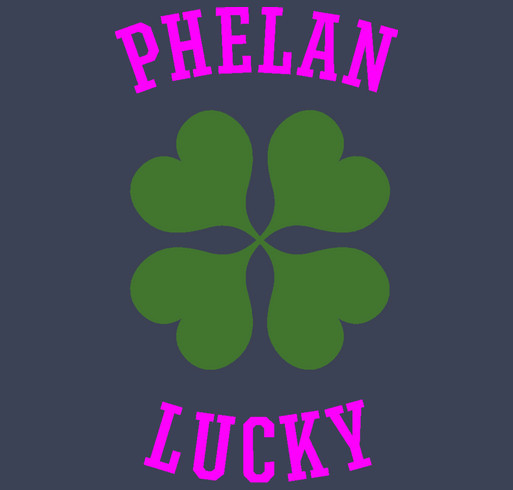PHELAN LUCKY 2016 shirt design - zoomed
