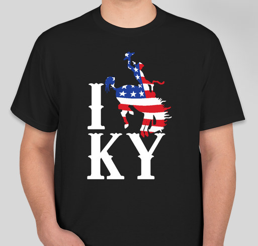 Miss rodeo kentucky t shirts long sleeved and short for Custom t shirts lexington ky
