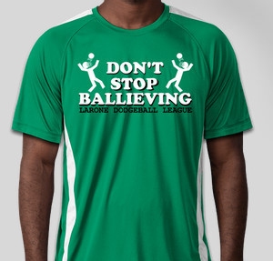 don't stop ballieving