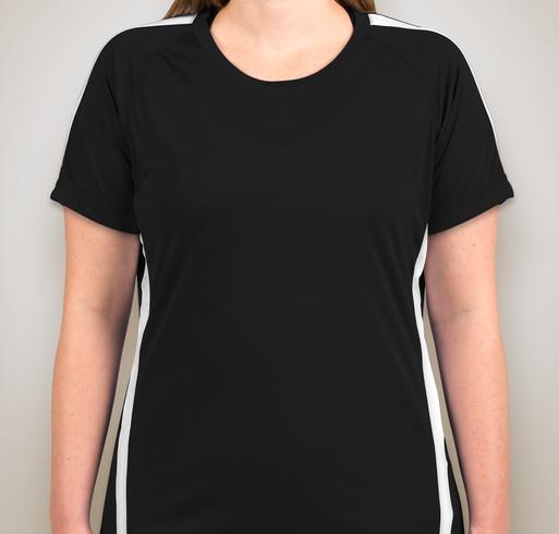 Custom sport tek competitor colorblock performance shirt for Custom t shirts canada no minimum