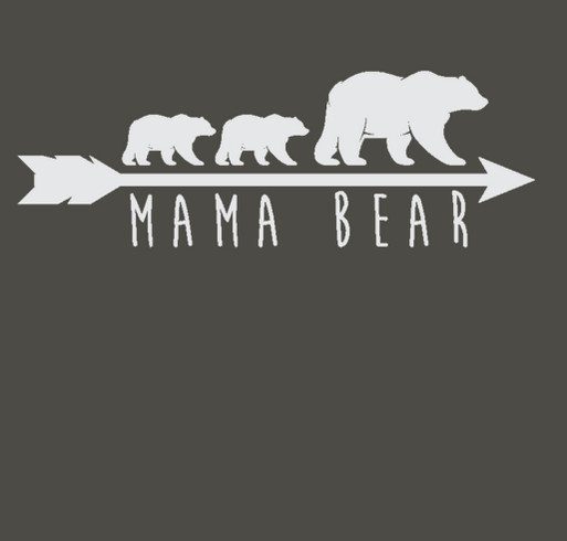 Mama Bear Tank Shirt Design