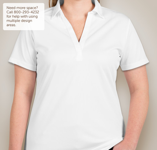 Port Authority Ladies Silk Touch Performance Polo - White
