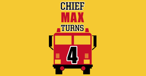 Chief Max turns 4