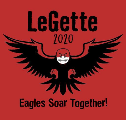Earl LeGette 2020 Spiritwear shirt design - zoomed