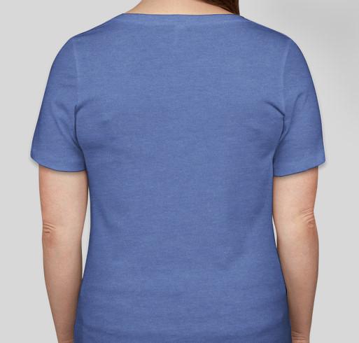 HDMS Swag Fundraiser - unisex shirt design - back