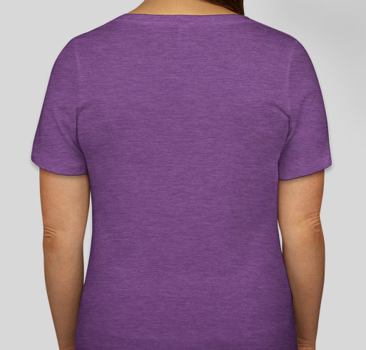 Domestic Violence Awareness by West Virginia Coalition Against Domestic Violence Fundraiser - unisex shirt design - back