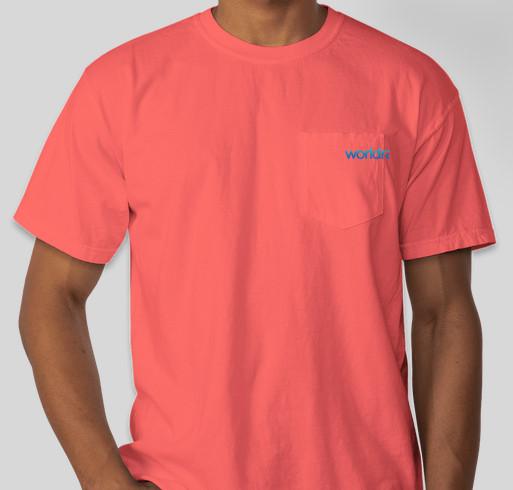 ab7e0abf Comfort Color S/S World Race Pocket Tee Fundraiser - unisex shirt design -  front