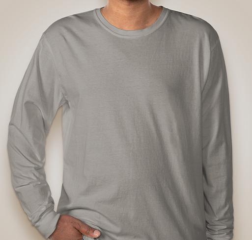Comfort Colors 100% Cotton Long Sleeve Shirt - Ice Blue
