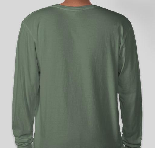 Drop the Blanket 2020 Fundraiser - unisex shirt design - back