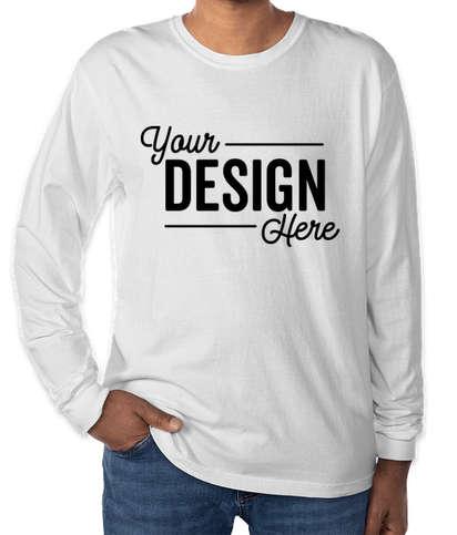 Comfort Colors 100% Cotton Long Sleeve Shirt - White