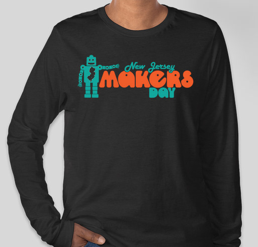 6th Annual New Jersey Makers Day! Fundraiser - unisex shirt design - front