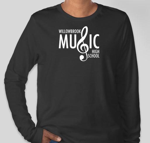 WBHS Music Boosters Spirit Wear Fundraiser - unisex shirt design - front