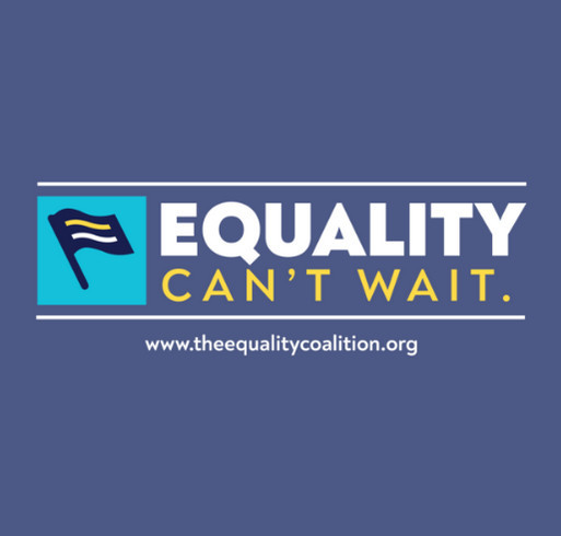 The Equality Coalition Fall Fundraiser shirt design - zoomed