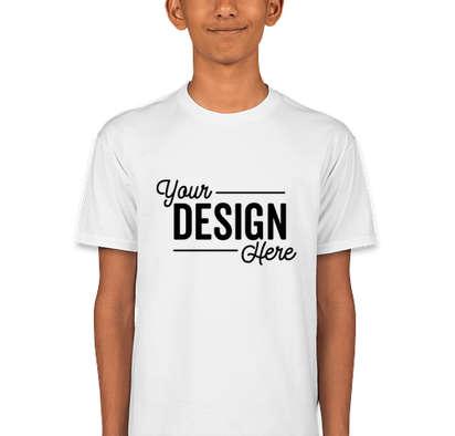 Hanes Youth Nano T-shirt - White