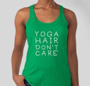 Yoga Hair