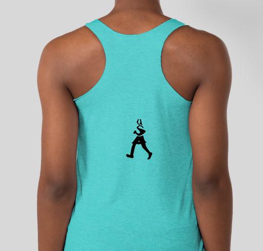 2015 Run Across America Fundraiser - unisex shirt design - back