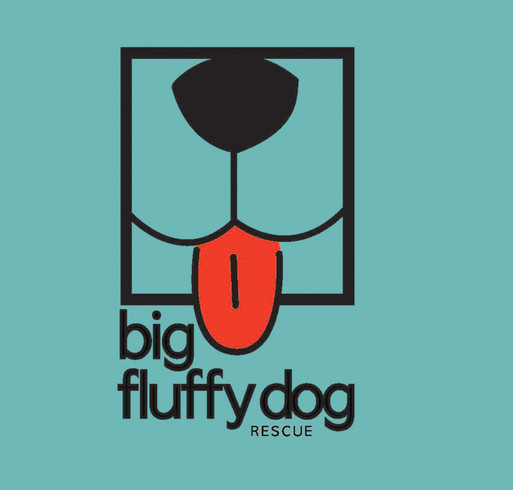 Big Fluffy Dog Rescue Tank Tops! shirt design - zoomed
