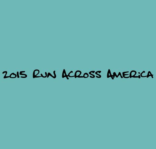 2015 Run Across America shirt design - zoomed