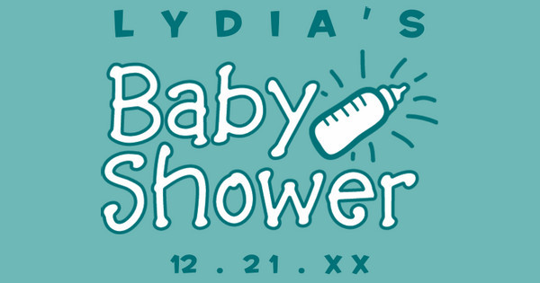 lydia's baby shower