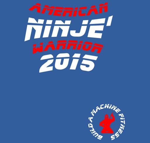 18c4b72885f0fc JEREMY's Path to American Ninja Warrior (WOMENS RACERBACK) shirt design -  zoomed