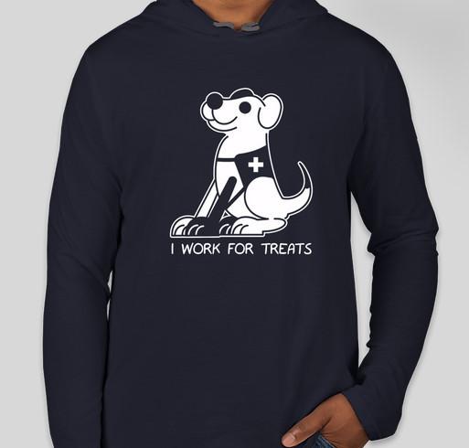 Support Atlas Assistance Dogs Fundraiser - unisex shirt design - front