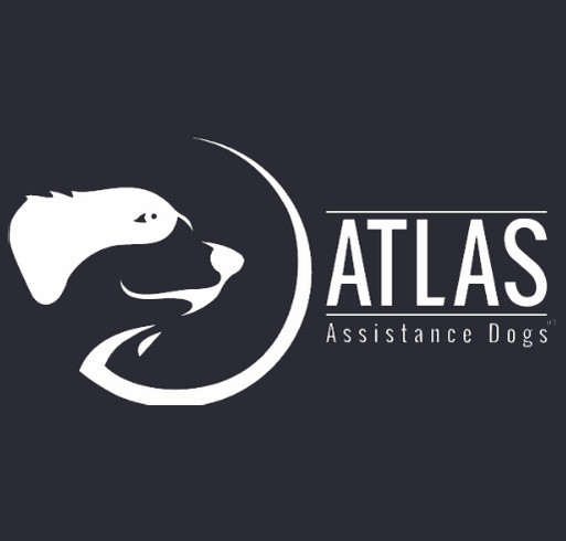 Support Atlas Assistance Dogs shirt design - zoomed