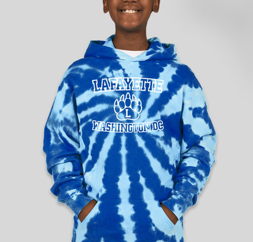 Port & Company Youth Tie-Dye Pullover Hoodie