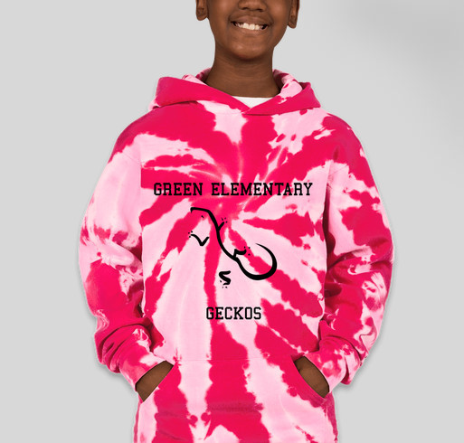 Port and Company Youth Tie-Dye Pullover Hoodie