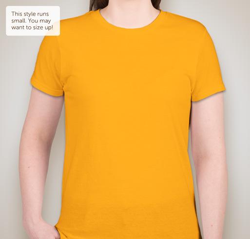 District Juniors Concert T-shirt - Neon Yellow