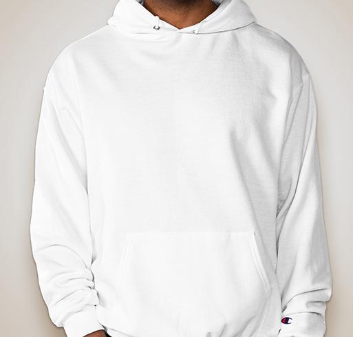 Champion 50/50 Eco Hooded Sweatshirt - White