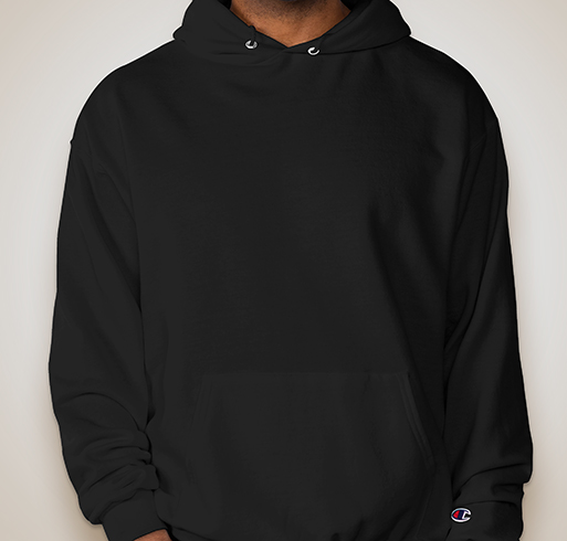 Champion 50/50 Eco Hooded Sweatshirt - Black