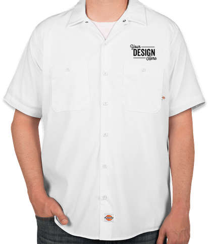Dickies Lightweight Industrial Work Shirt - White