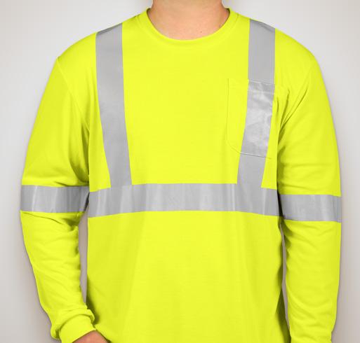CornerStone Long Sleeve Performance Safety Shirt - Safety Yellow
