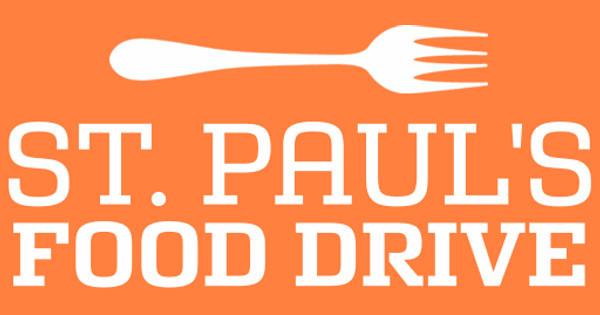 St. Paul's Food Drive